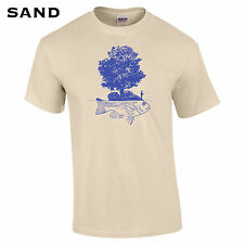 148 Fish Island Mens T-Shirt fisher outdoor hunter fathers day camping dad cool