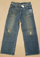 Abercrombie Colden Baggy Boys Size 16 Reg Distressed jeans NWT