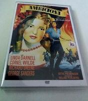 """DVD """"AMBICIOSA"""" COMO NUEVO OTTO PREMINGER LINDA DARNELL CORNEL WILDE"""