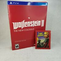 Wolfenstein II: The New Colossus Collector's Edition PlayStation 4 PS4 Steelbook
