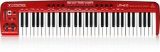 Behringer U-Control UMX610 61-Key USB MIDI Controller Keyboard - Ships FREE U.S.