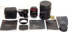 Leica TRI-Elmar-M 1:4/16-18-21mm / 16-18-21mm F4 ASPH. 6-Bit COMPLETE Set! MINT!