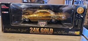 1/24 scale Diecast 24k Gold stockrods  Coors # 40 nascar racing champions