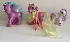 3 My Little Pony Wing Song, Baby Goody Gumdrop,Toola-Roola 2004 G3