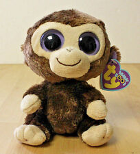 Ty Beanie Boo 5.5�-6� Coconut the Monkey Date of Birth July 27 Mwmt Tush 2011
