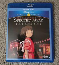 Spirited Away (Blu-ray/Dvd, 2015, 2-Disc Set)