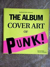 Burkhart Seiler&Friends - Cover Art Of Punk  Rare Original Book , X Ray Spex,KBD