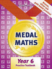 Medal Maths Practice Textbook Year 6, Good Condition Book, Cooper, Richard, ISBN