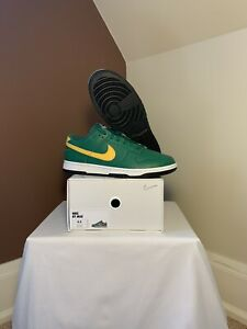 Nike Dunk Low ID By You 365 Green/Yellow Dunk Size 9.5