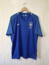 BRASIL 2016 2017 AWAY FOOTBALL SHIRT SOCCER JERSEY NIKE 724593-493
