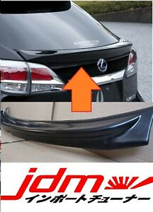 For Lexus RX350 RX450H Tail Gate Middle Spoiler Cover ABS Plastic 2009-2015 MY