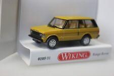 Wiking Range Rover, miel jaune - 0105 01 - 1:87