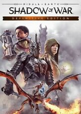 Middle-earth: Shadow of War Definitive Edition PC Steam KEY GLOBAL FAST SENT!