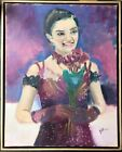 Original Jeffrey Lloyd Barnes 16x20 Portrait Evgenia Medvedeva Figure Skater