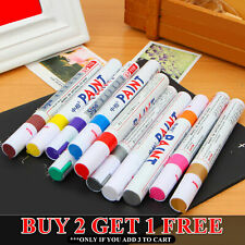 Paint Pen Marker UK Supplier Many Colours Car Tyre Tire Metal Permanent Pens UK✅