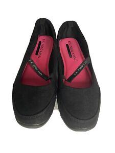 ~EUC!~ US Polo Assn. COMFORT FOAM INSOLES Black SHOES WOMEN'S SIZE: 6.5