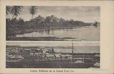 COSTA RICA LIMON EDIFICIOS DE LA UNITED FRUIT CO ED. SAUTER & CO LIB. LEHMANN