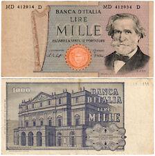 Italy 1000 Lire P#101f (1979) Banca d'Italia VF