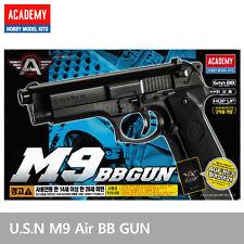 ACADEMY M9 Airsoft Pistol BB Gun 6mm /Spring,Hop Up System, ABS