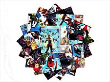 32 5 inch Quilting Fabric Sqs Disney Marvel 2 Universe Charm Pack/Licensed#2 !