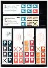 Nederland Partijtje Luxe Postzegelboekjes tussen PB 3a en PB 13a CW 98,50 euro