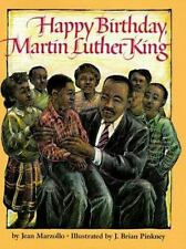 Happy Birthday Martin Luther King (Scholastic Hardcover), Marzollo, Jean, 059044