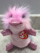 Ty 36286 Petunia Platypus Beanie Boo 6� 15 Cm Multicolored Sparkling Beak & Feet