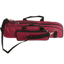 Brand New Red Color Trumpet Soft Case Nylon Gig Bag Crossbody Portable Quality