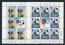 Jugoslawien 3325/26 Kleinbogen postfrisch / Fußball .......................1/375