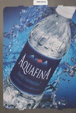 AQUAFINA WATER Vending Machine Sign