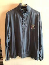 Weatherproof Ryder Cup Valhalla Blue Light Players Pullover Jacket Mens Small