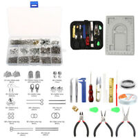 Jewellery Making Kit Findings Beading Board Wire Supplies Pliers Tools Set DIY