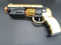 New Platic Pistol Toy Gun with Light Sound Vibration Effects For Kid Game