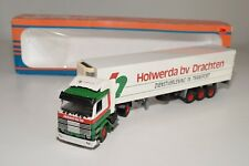 X TEKNO SCANIA 143M 143 M TRUCK WITH TRAILER HOLWERDA BV DRACHTEN N MINT BOXED