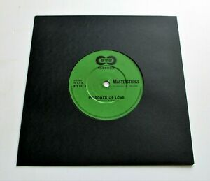 "Masterstroke - Prisoner Of Love UK 1982 DTS 7"" Single NWOBHM"