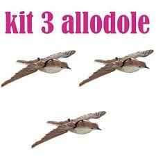 stampo allodola in volo di plastica richiami caccia allodole stampi kit 3 pezzi