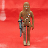 Vintage Star Wars Chewbacca Action Figure w/ Weapon
