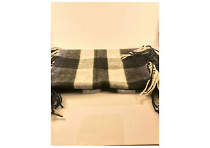 Burberry scarf - Classic - Black/Grey/White - 100% Cashmere - As New