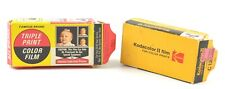 2) Color 126 film Kodak & Ilford ?