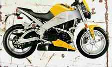 Buell Lightning XB9S 2003 Aged Vintage SIGN A4 Retro