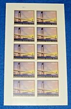 One Sheet of 10 of Verrazano-Narrows Bridge $5.60 Us Ps Postage Stamps Sc # 4872