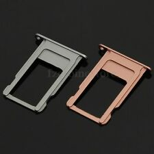 Nano SIM Card Tray Holder Slot Replacement For iPhone 6S Plus 5.5'' Rose Grey