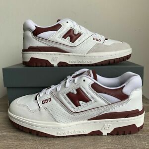 New Balance 550 Maroon/Burgundy - Size 7.5-9.5 - Brand New, 100% Authentic