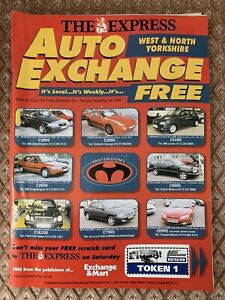 West And North Yorkshire Auto Exchange 3 - 9 December 1999 Car Mart   Used