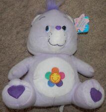 "lavender HARMONY BEAR CARE BEAR plush  12"" purple Collectors edition"