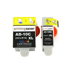 2x Advent 10 Compatibe Ink Cartridge for ABK10 ACLR10 for A10 AW10 AWP10 Printer