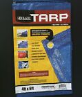 Lot of 5 New Bazic Tarp All *4x6 ft 5 MIL Thick ALL PURPOSE H-6