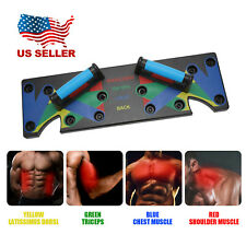 Fitness exercise training gym exercise rack 9 in 1 push up stands board system