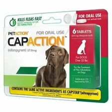 Flea for Dogs Medication Medicine Pills Flea Treatment Large Dog 6 count