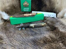 1975 Vintage Puma 943 Jagdmesser Knife With Stag Handles Factory Box